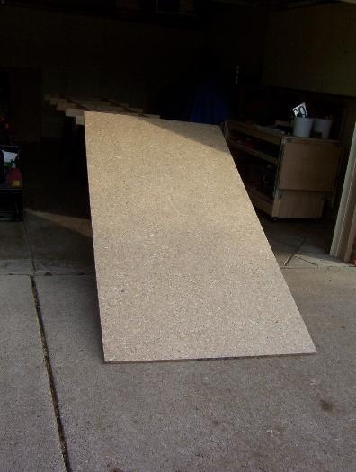 Just slide the mdf on top