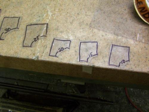 acetate templates