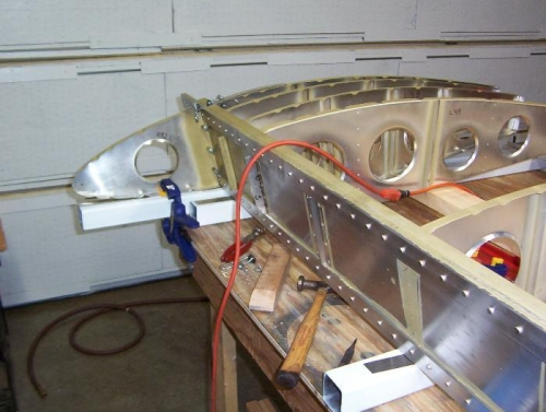 Nose Rib 1 in place