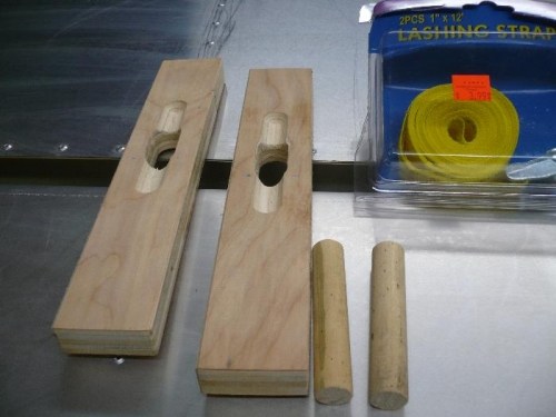 Gust lock parts