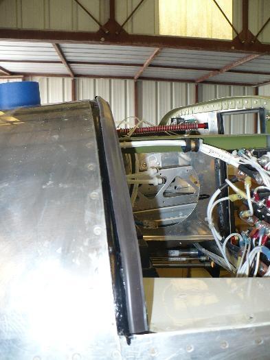 Fiberglassed seam installed gasket