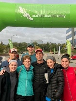 We did the Market to Market relay on Oct 6.  Alot of fun!  We did pretty good, 110 out of 616.