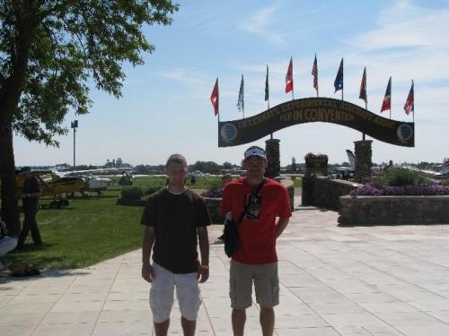 Trev and I went to Oshkosh 2010.