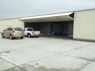 Began moving parts to the hangar.  Yippee!!