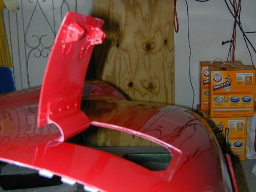 Oil Door Latch/hinge Arrangement