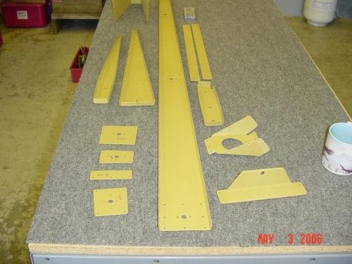 Rudder parts