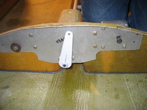 Rear bracket looking foward