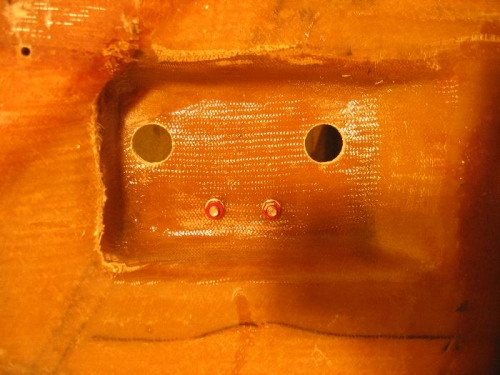 Holes in Canard