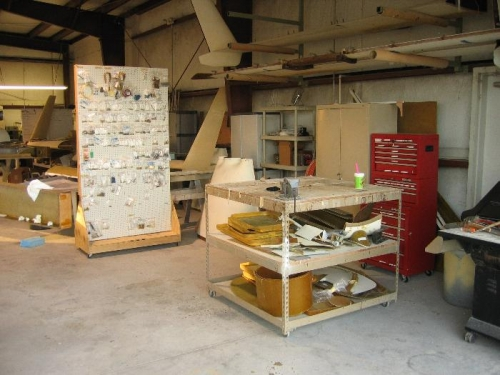 Parts board, workbench, toolbox, etc