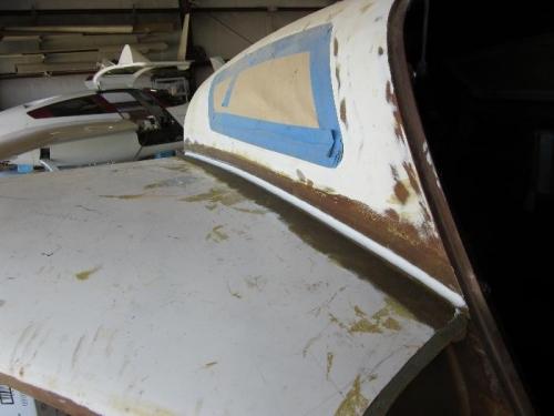 Micro radius strake/fuselage