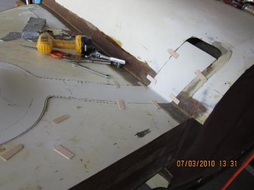 Shapping CP gear door