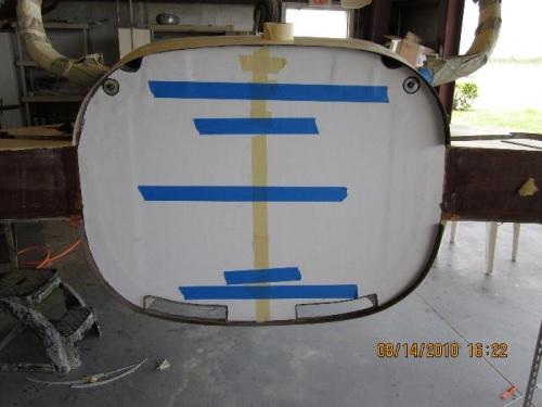 fiberfrax installed