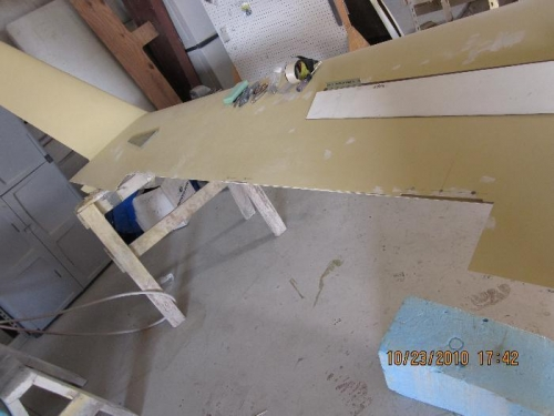 aileron removed