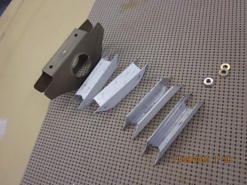 Top of cylinder baffle parts