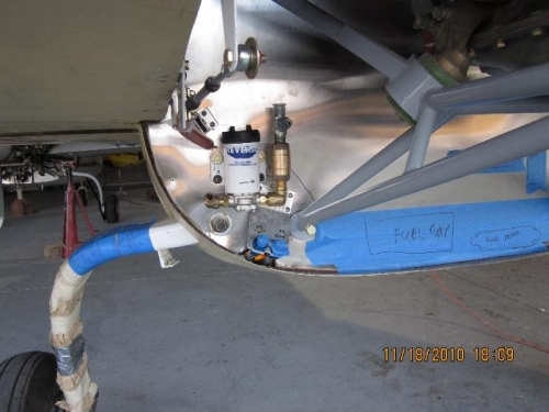 Pre-oiler mounted