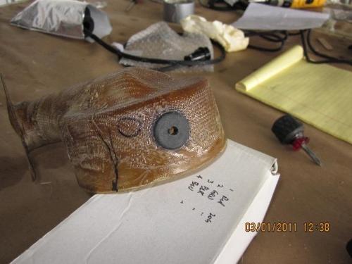 Grommet in Alternator blast tube