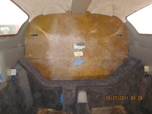 Fitting 2 aft bulkhead pieces