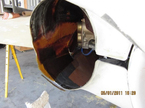 cowling to cowling flange