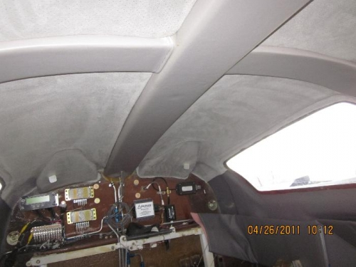 Top of cabin looking aft