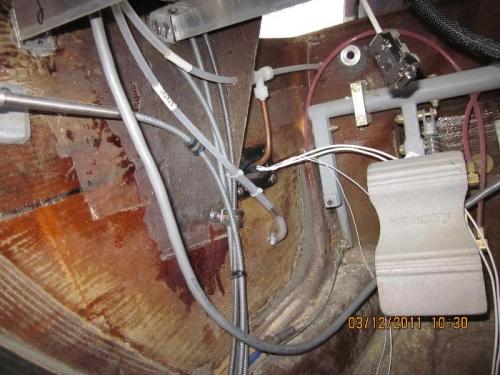 Pitot/Static plumbing