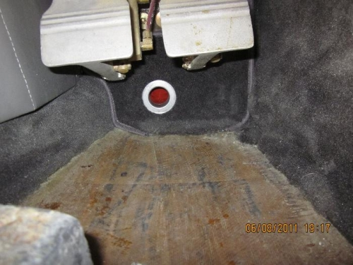 Pilot side heater outlet