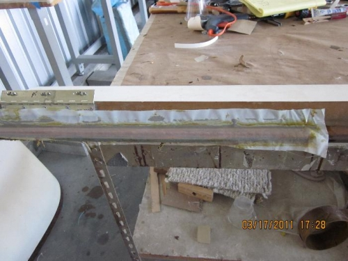 Additional weight covered by peel ply