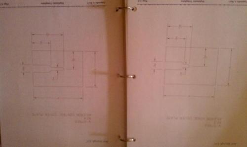 Aileron fabric plate diagram