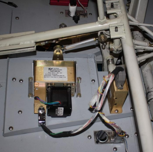 Pitch servo, Autotrim module and floorboard stiffener