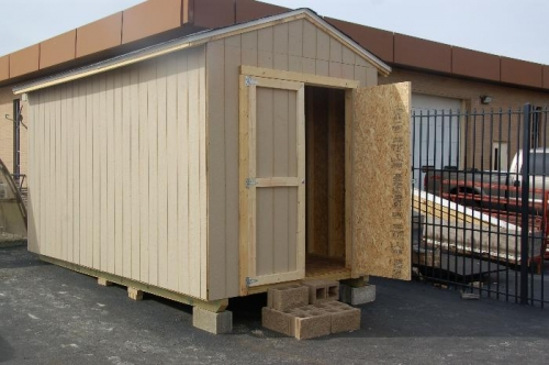 New storage building