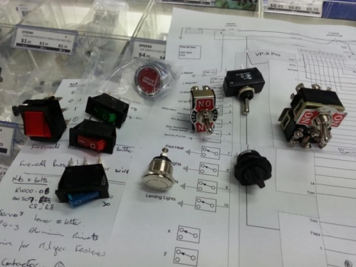 Lots of lovely switches