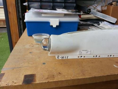 LED light mounted