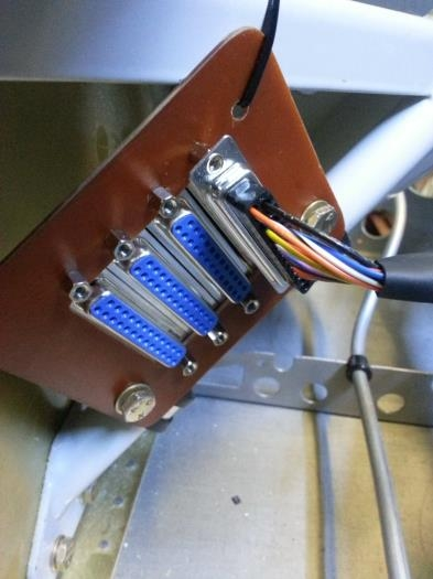 Control board mounted