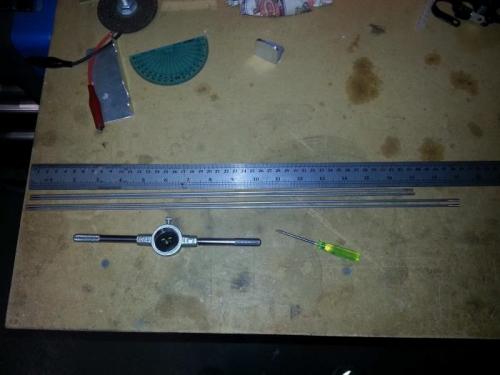 Baffle rods