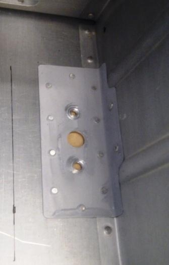 Comm Antenna mounting plate