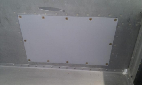 New access panel