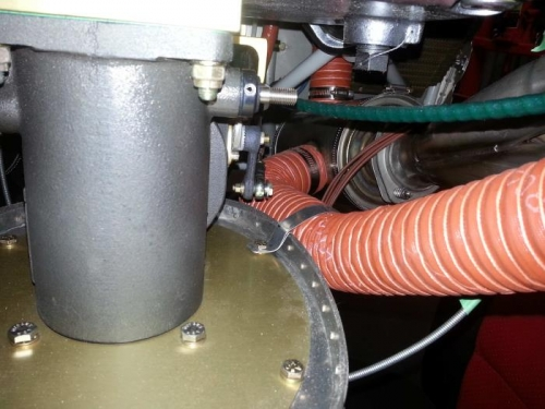 Bracket for air inlet pipe