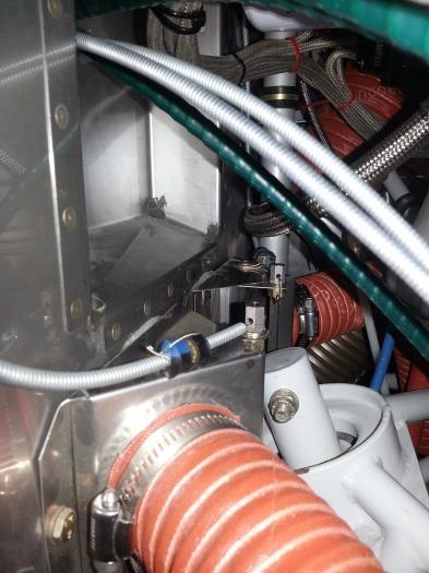 Heater controls assembled