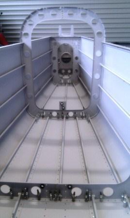 Bottom floor plan riveted