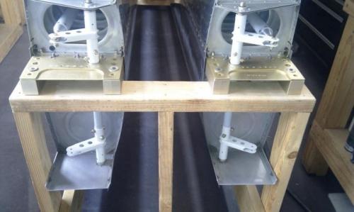 Aileron control rods