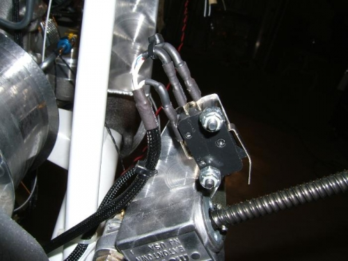 Clutch position switch