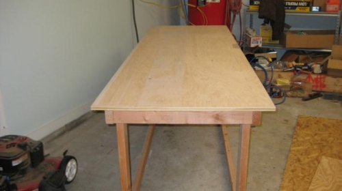 Table is made
