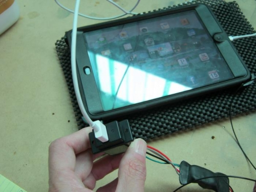 Testing USB kit before install