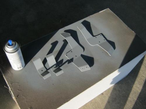 wheel pant brackets