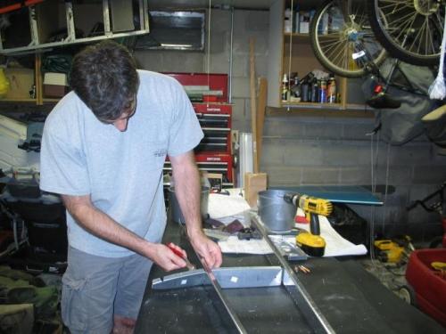 Match drill new horizontal stabilizer parts