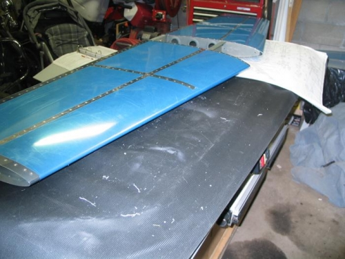 Completed horizontal stabilizer