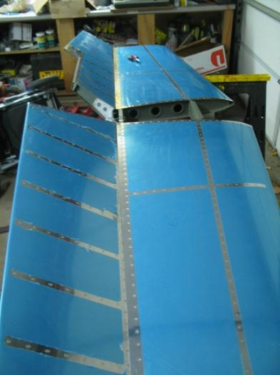 Fit Elevators to Horizontal Stabilizer