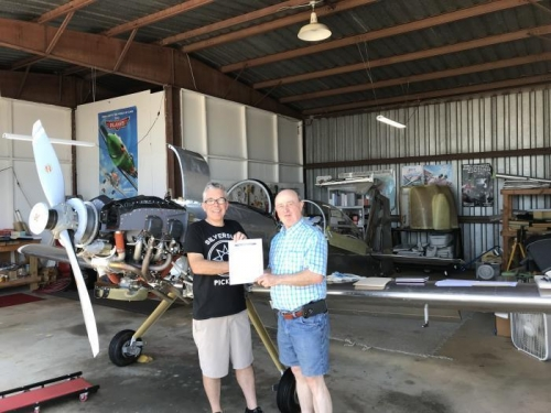 Speical Airworthiness Certificate Approved