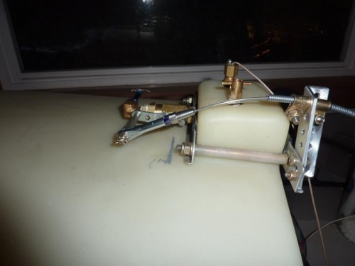 Side View Valve Open