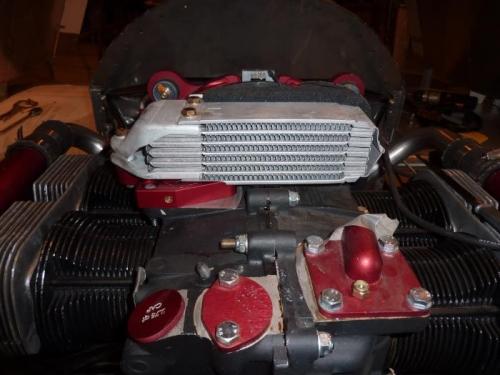 Oil Cooler Installed