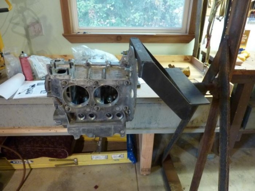 Engine stand on A-Frame